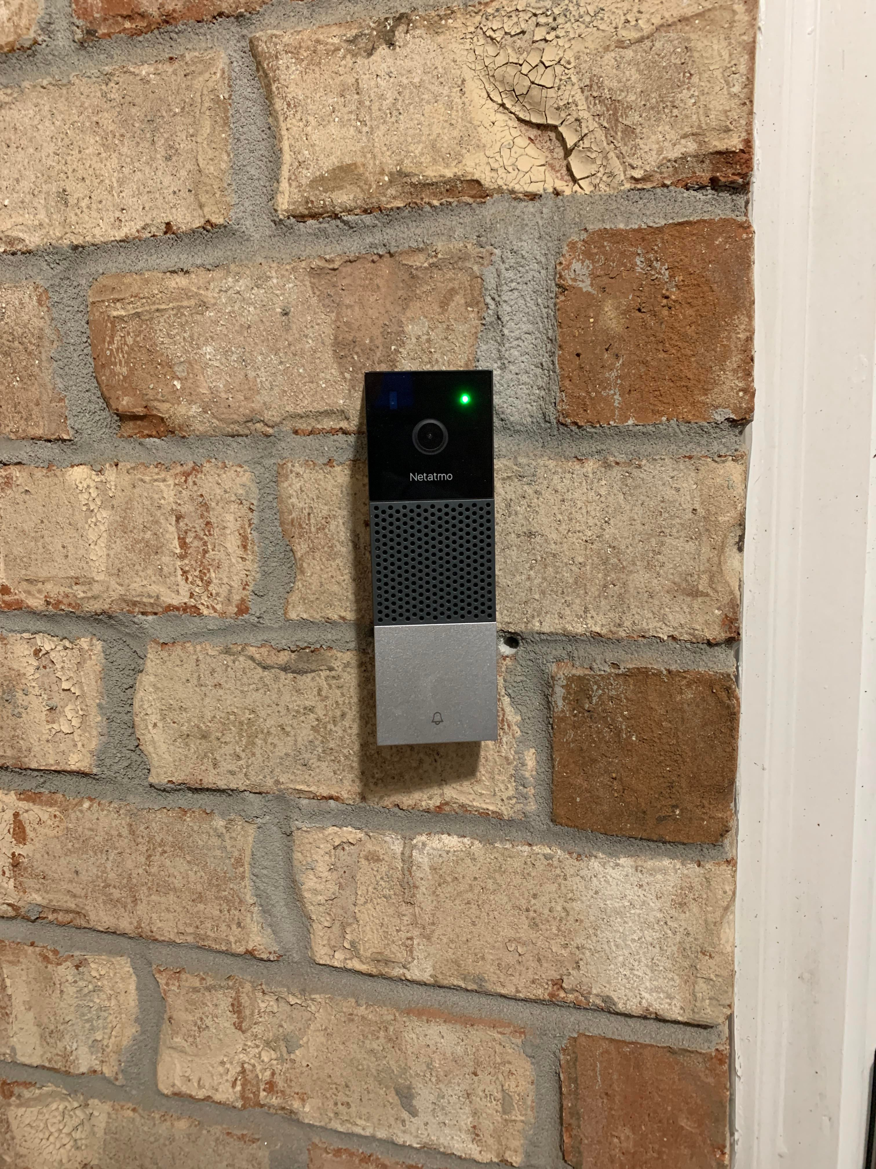 I installed Netatmo Doorbell a few days ago I really