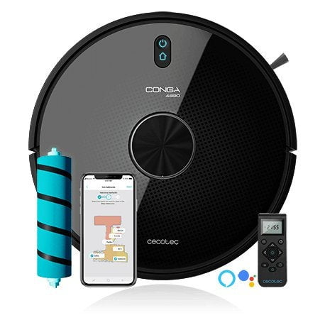 I just saw another post about it ... so guessing I'm out of luck.  Add Vacuum Conga to HomeKit?  Possible?  Sorry, link in Spanish.