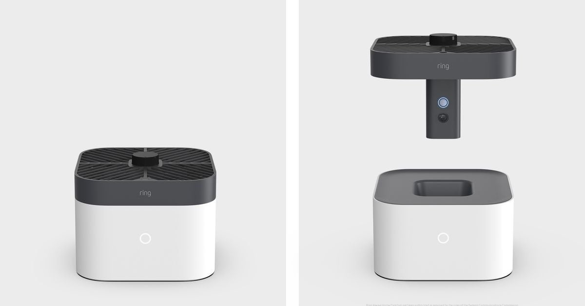 I thought it was a joke at first: Ring's latest security camera is a drone flying around your house.