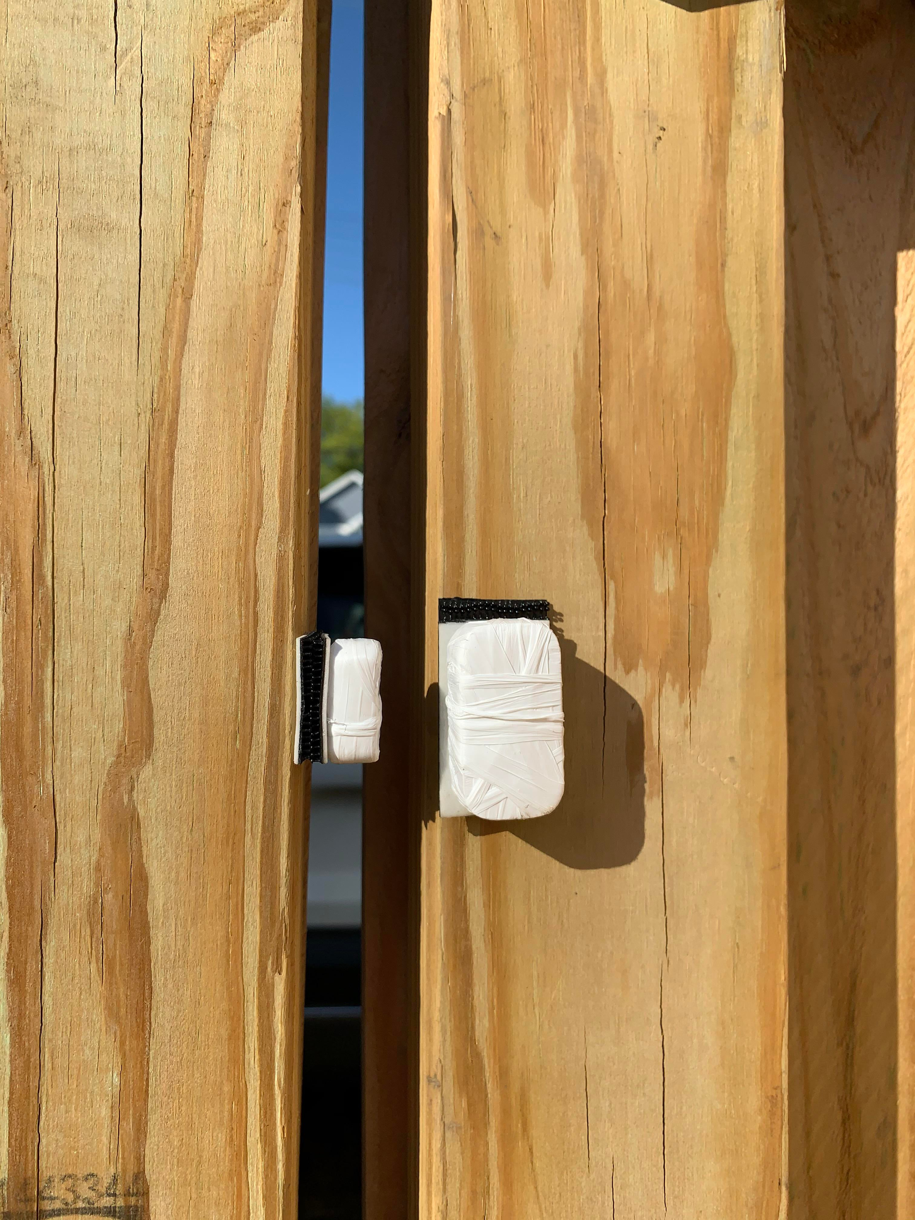I weathered my Aqara sensor to function as a gate
