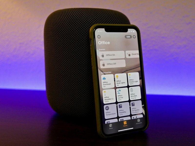 HomeKit on iPhone