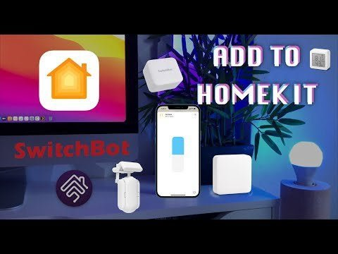 If any of you have SwitchBot products and want to add them to your HomeKit, this video will help.  It explains how to configure it and shows you the capability of the API.  It is amazing.