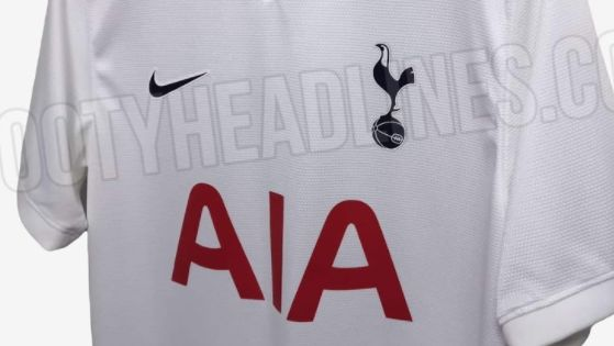 Images of the Tottenham 2021/22 home kit have leaked, and fans will love a sleek new design