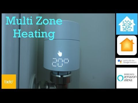 Installing the Tado smart radiator valve in Home Assistant and HomeKit and Alexa and Google Home