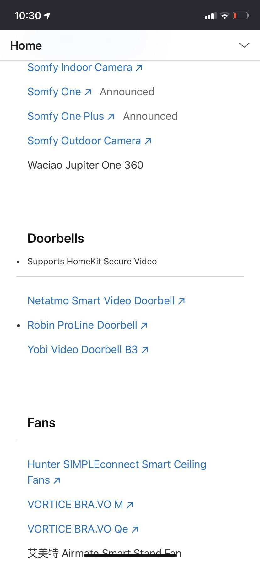 Is the Logitech Circle ringtone lost on HomeKit support It