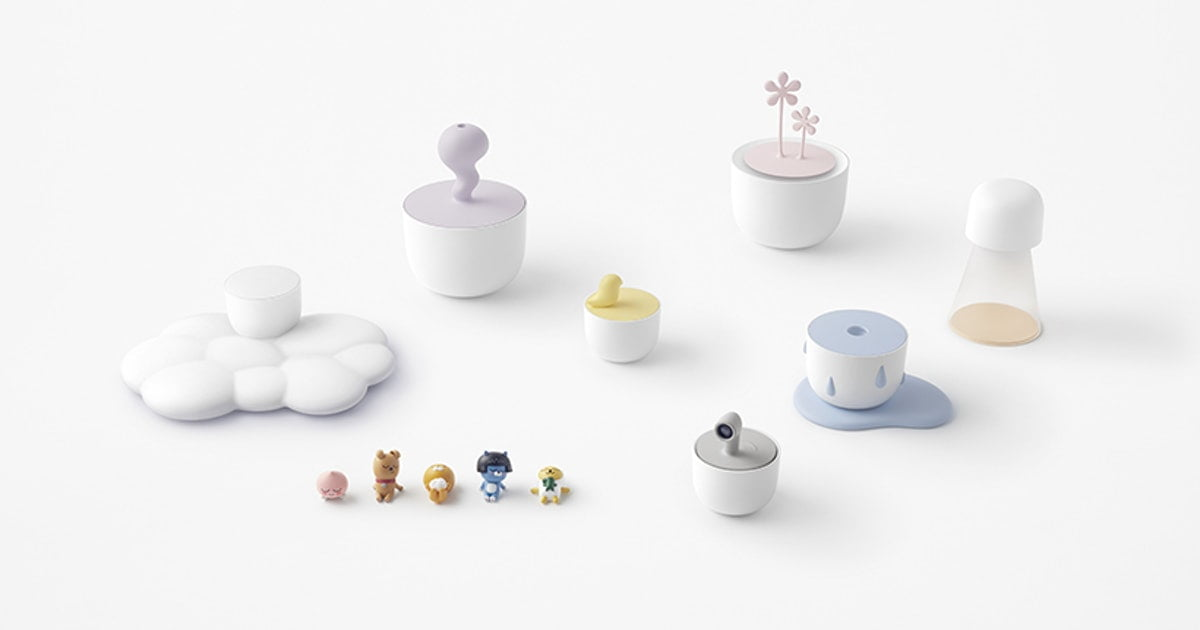 Kakao Friends Home Kit Shows That Tech Can Be Functional & Charming