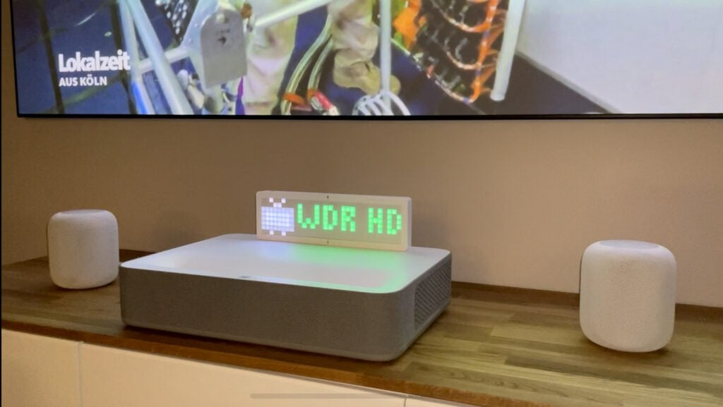 LED Matrix HomeKit integration