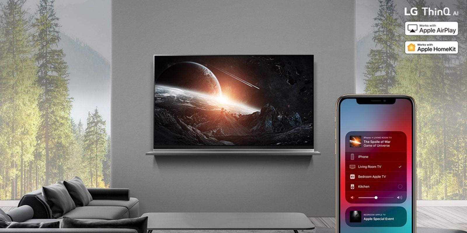 LG Backtracks on the promise to bring AirPlay 2 and
