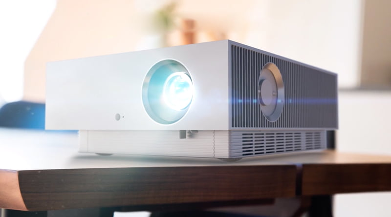 LG unveils 4K laser projector with HomeKit, AirPlay 2 - Homekit News and Reviews