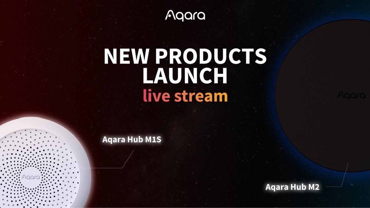 Live Stream Aqara launches M2 and M1S on Amazon USA