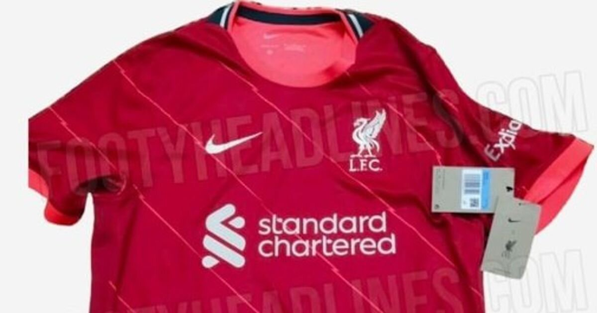 "Liverpool's 2021/22 home kit is ""leaked"" and fans are not satisfied"