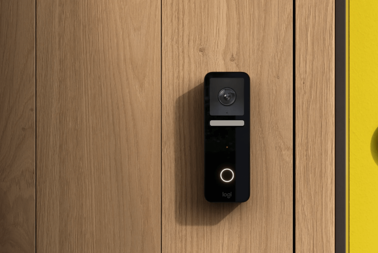 Logitech's Circle View Doorbell offers full compatibility with Homekit Secure Video