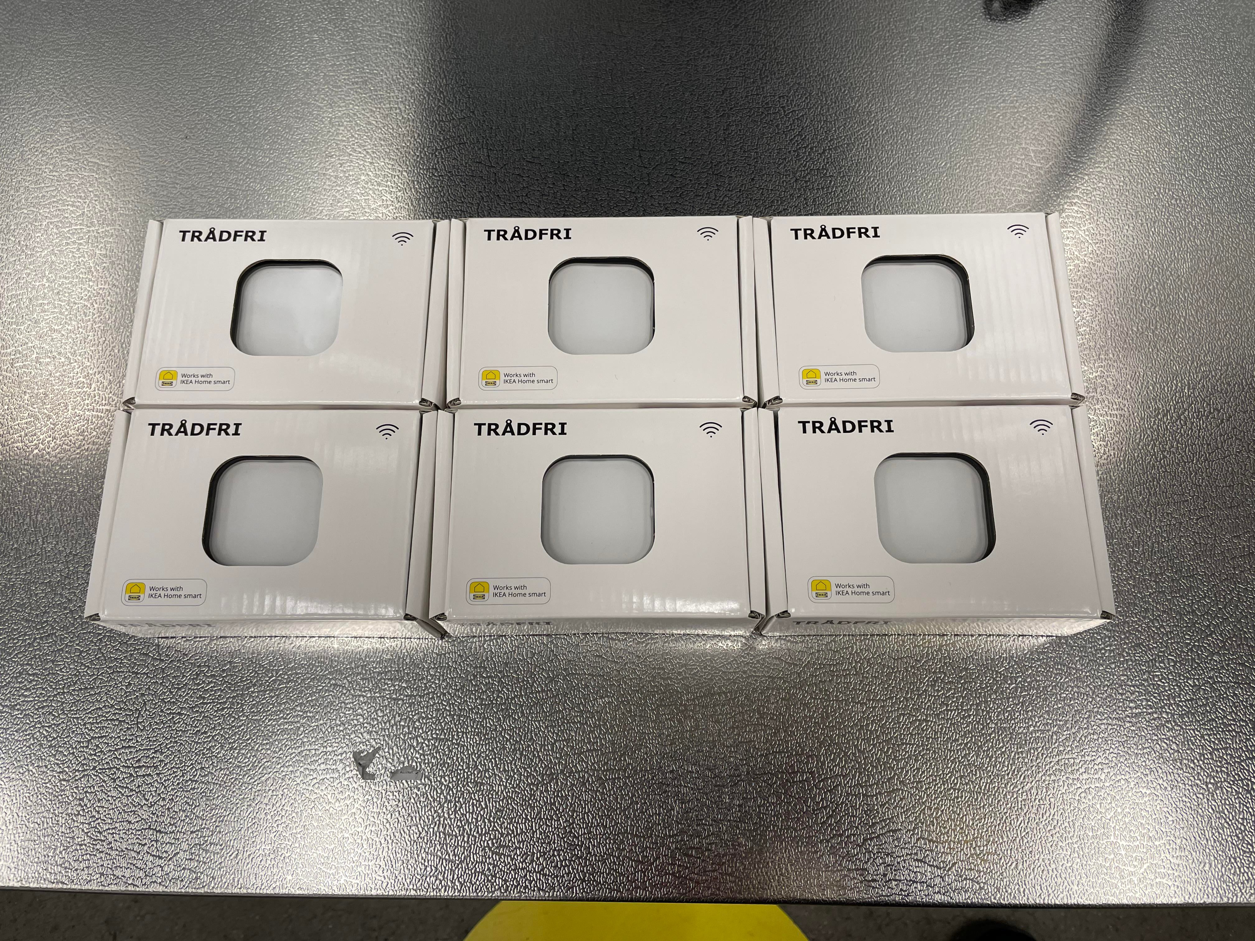 Look for these HomeKit compatible buttons in your local IKEA