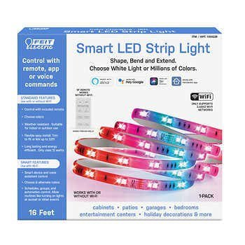 Made 16 'Smart LED Strip Light - HomeKit compatible?