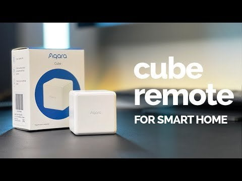 """Made a video on how to control HomeKit accessories with the Aqara remote (non HomeKit) using """"dummy switches"""""""