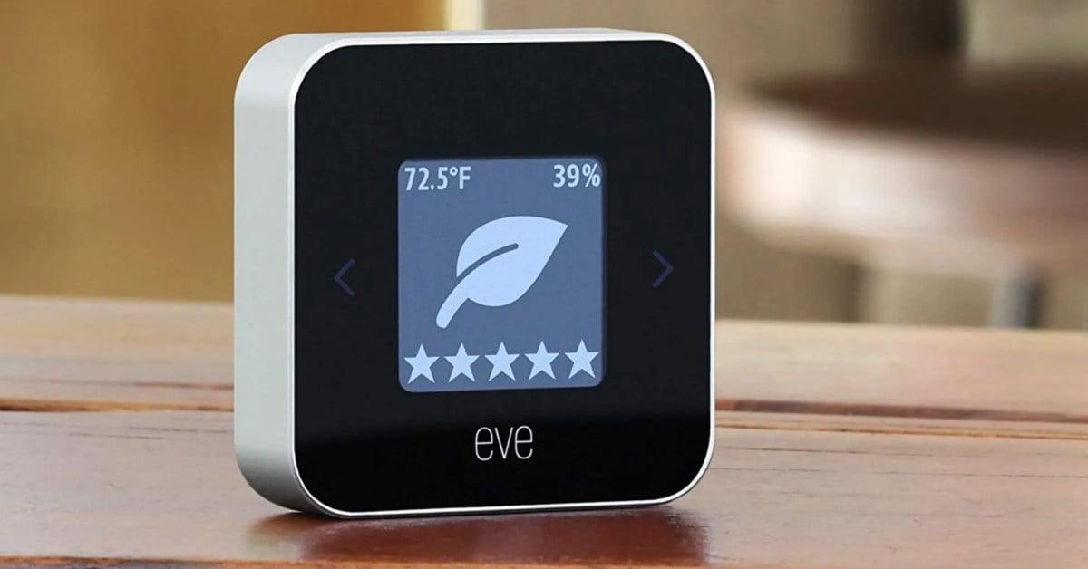 Monitor the air quality of the HomeKit setup with a rare Eve Room discount of $ 90