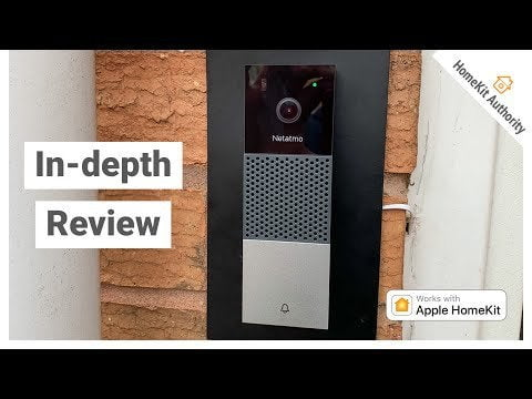 Netatmo Smart Video Doorbell Review - Application Overview, HomeKit, HomePod Chime and Apple TV PIP