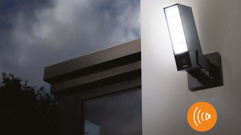 Netatmo has updated its outdoor HomeKit smart camera with loud siren