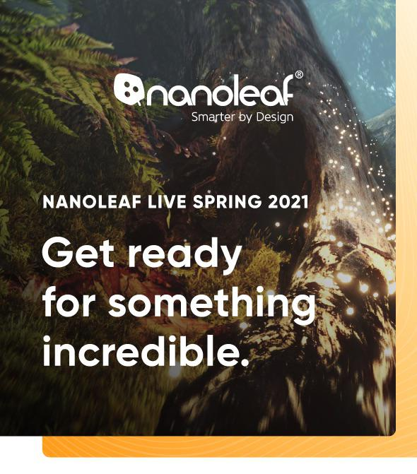New Nanoleaf products will be announced via YouTube, June 3, 13:00 ET (possible learning series)
