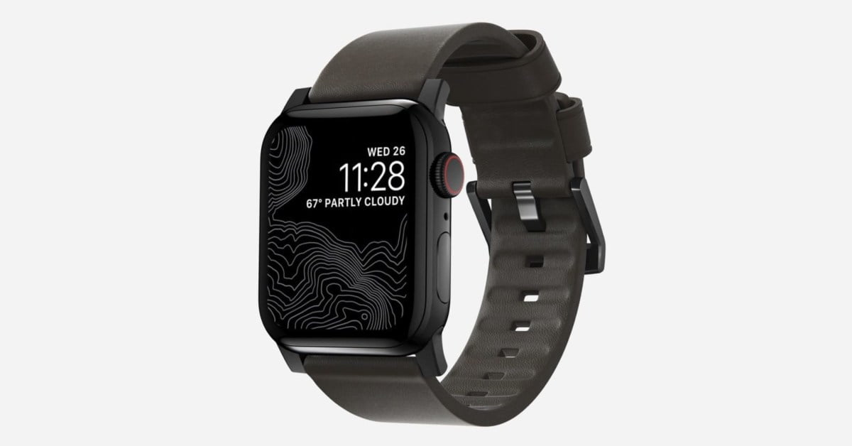 Nomad has a discount of up to 85% on the reduction of sales at the sale of Apple Watch leather straps, more than 10 USD