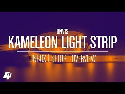 Onvis Kameleon Multicolour Light Strip (video) - full review, including the chance to win a 2m or 5m band.