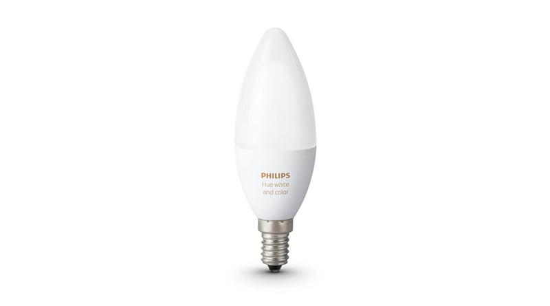 Philips Hue White and Colour Ambiance E12/E14 Bulb – Homekit News and Reviews