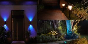 Philips Hue expands outdoor options with wall-mounted bi-directional 'Appear' fixture and spot, path lights