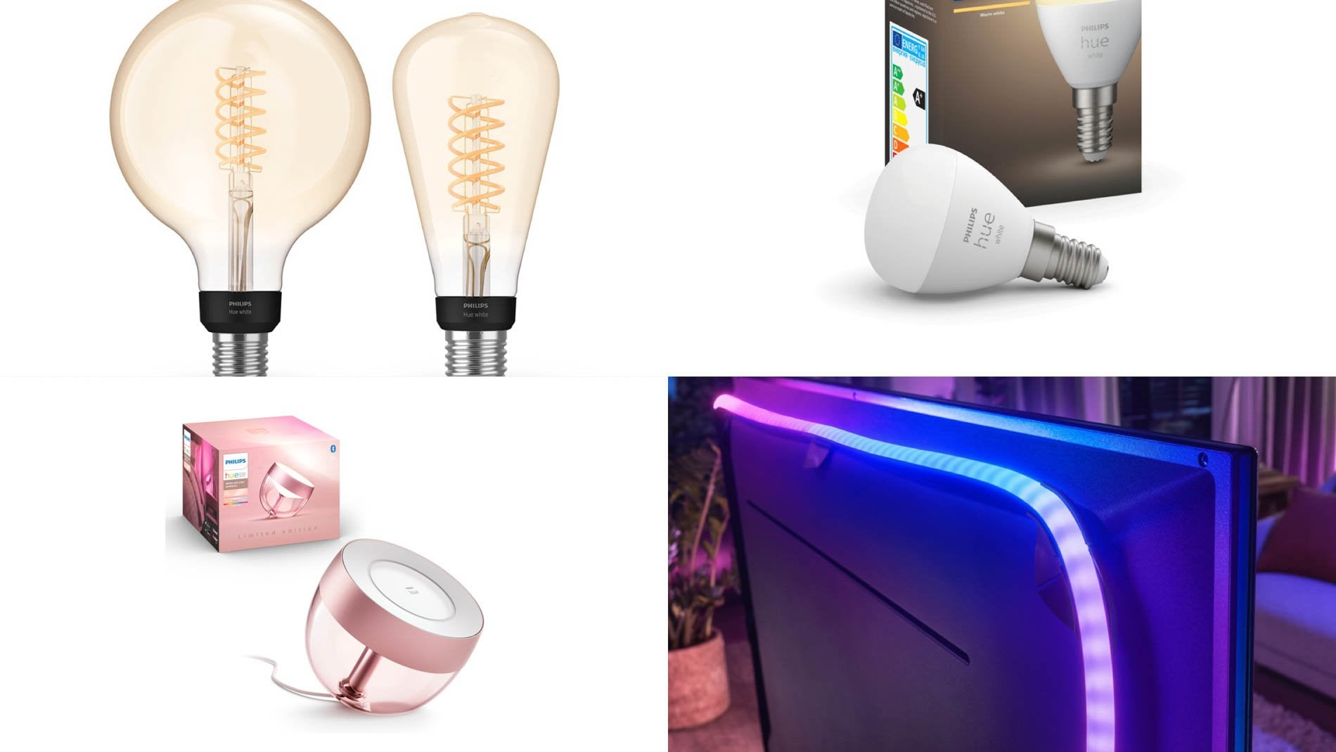 Philips Hue gradient LED strips new Eris dimensions and filament