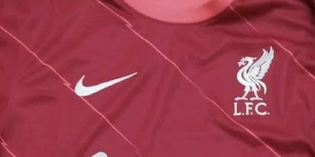 (Image) Potential Liverpool Nike home kit for 2021/22 leaked