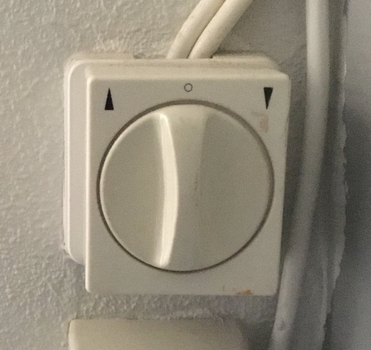 Replace the shadow screen switch