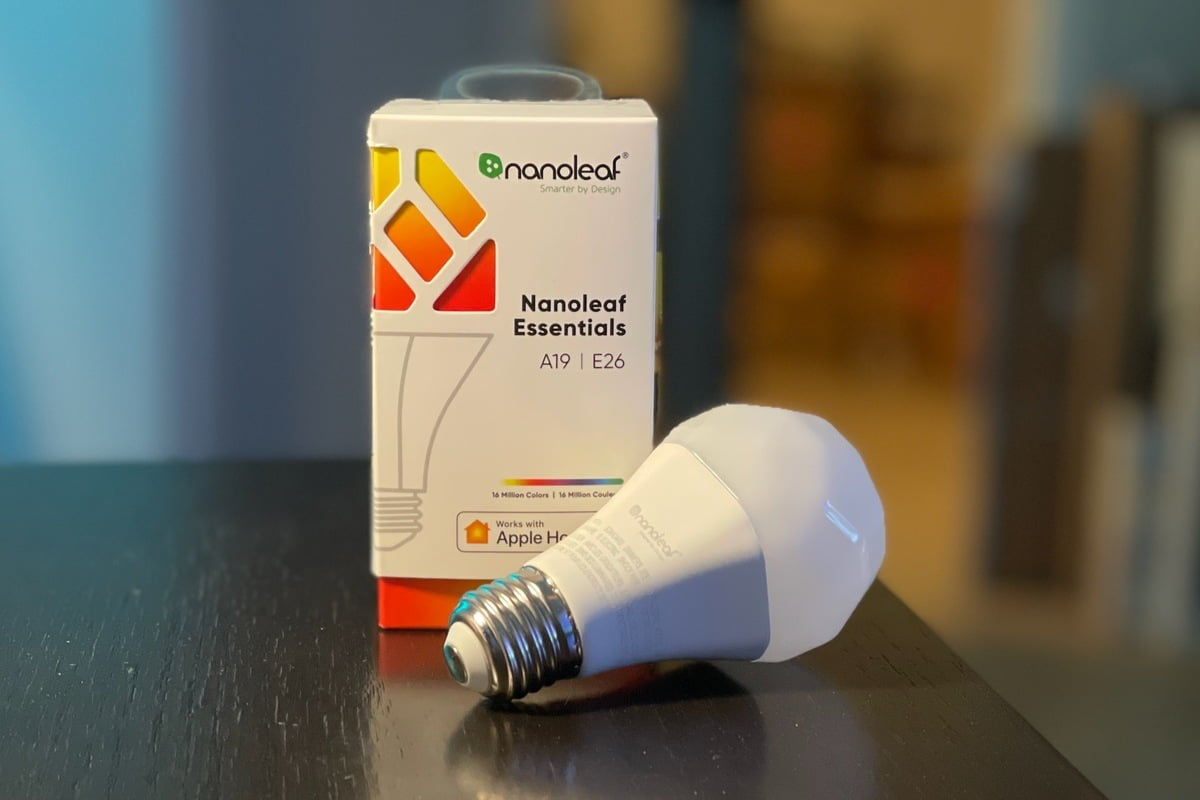 Review Nanoleaf Essentials A19: a smart 120-sided threaded bulb