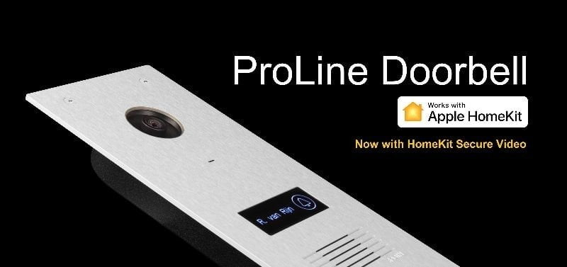 Robin's ProLine Video Doorbell is the first to support HomeKit Secure Video