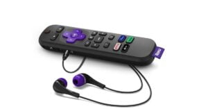 """Roku unveils a new remote control with the dedicated Apple TV + button, the """"Find my remote control"""" feature.  Extending HomeKit and Airplay across multiple devices"""