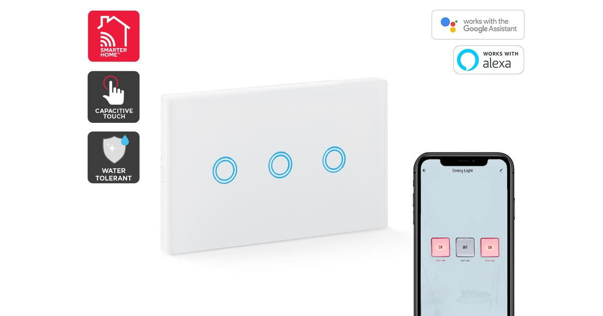 Smart light switches (for use in NZ - 230V)