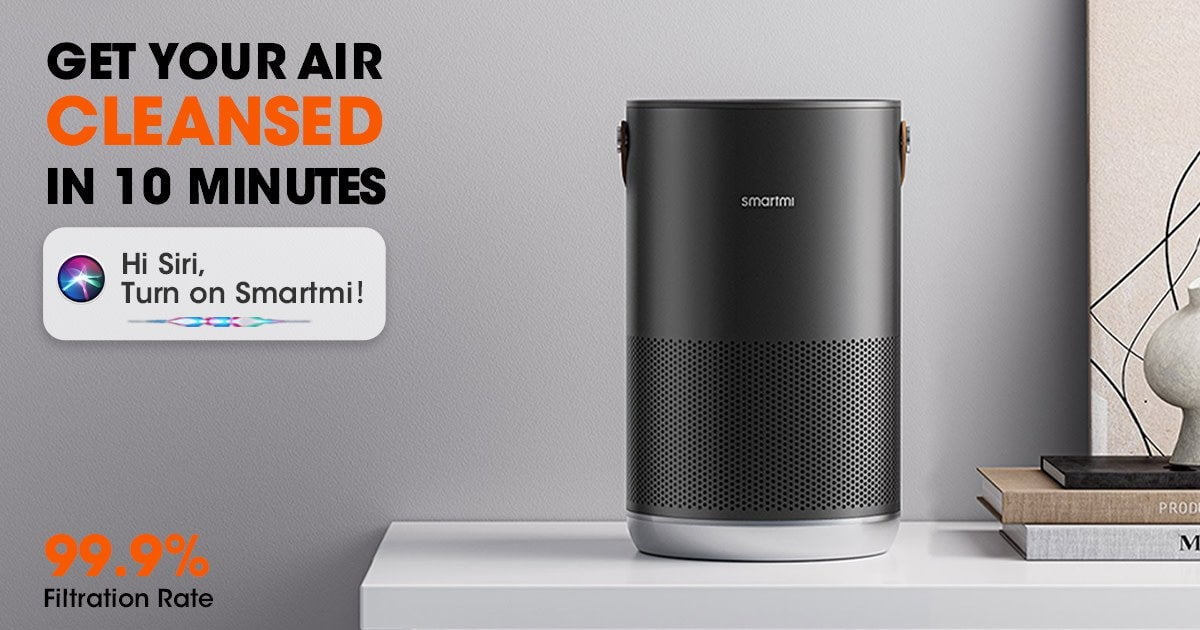SmartMi P1 HomeKit Air Purifier for Under $ 100 - Too Good to Be True?
