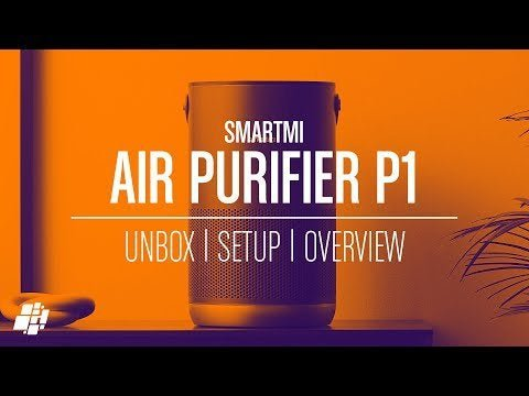 Smartmi P1 air purifier (video)