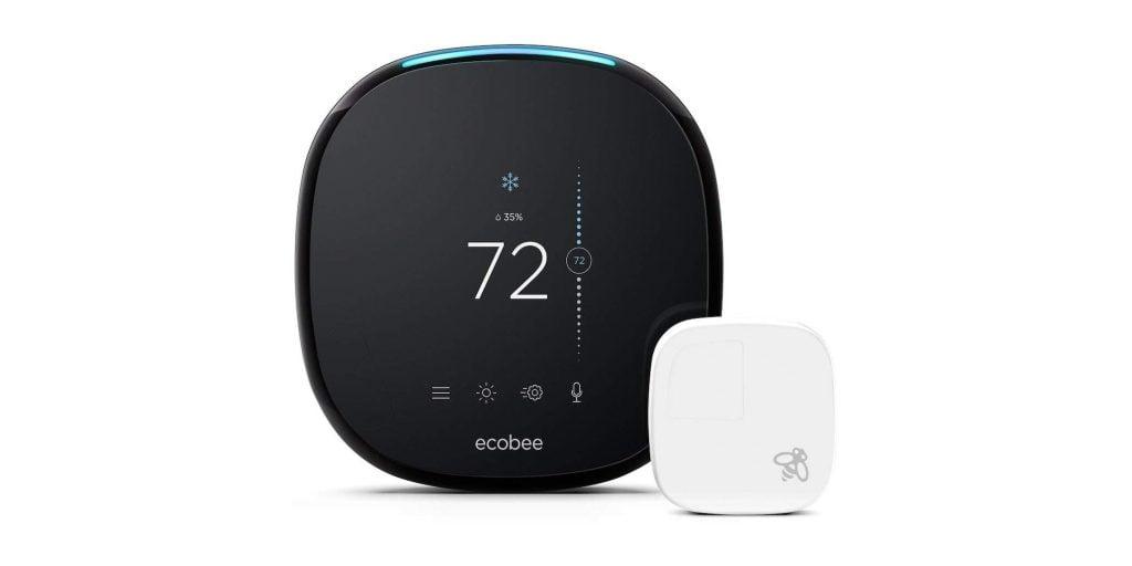 Snag an ecobee4 HomeKit Smart Thermostat with Sensor for $169 (Reg. $199)