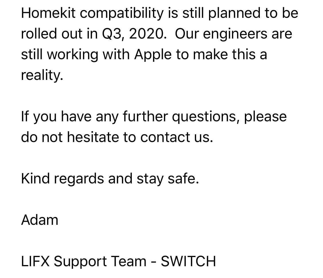 The LIFX switch gets HomeKit by Q3 2020