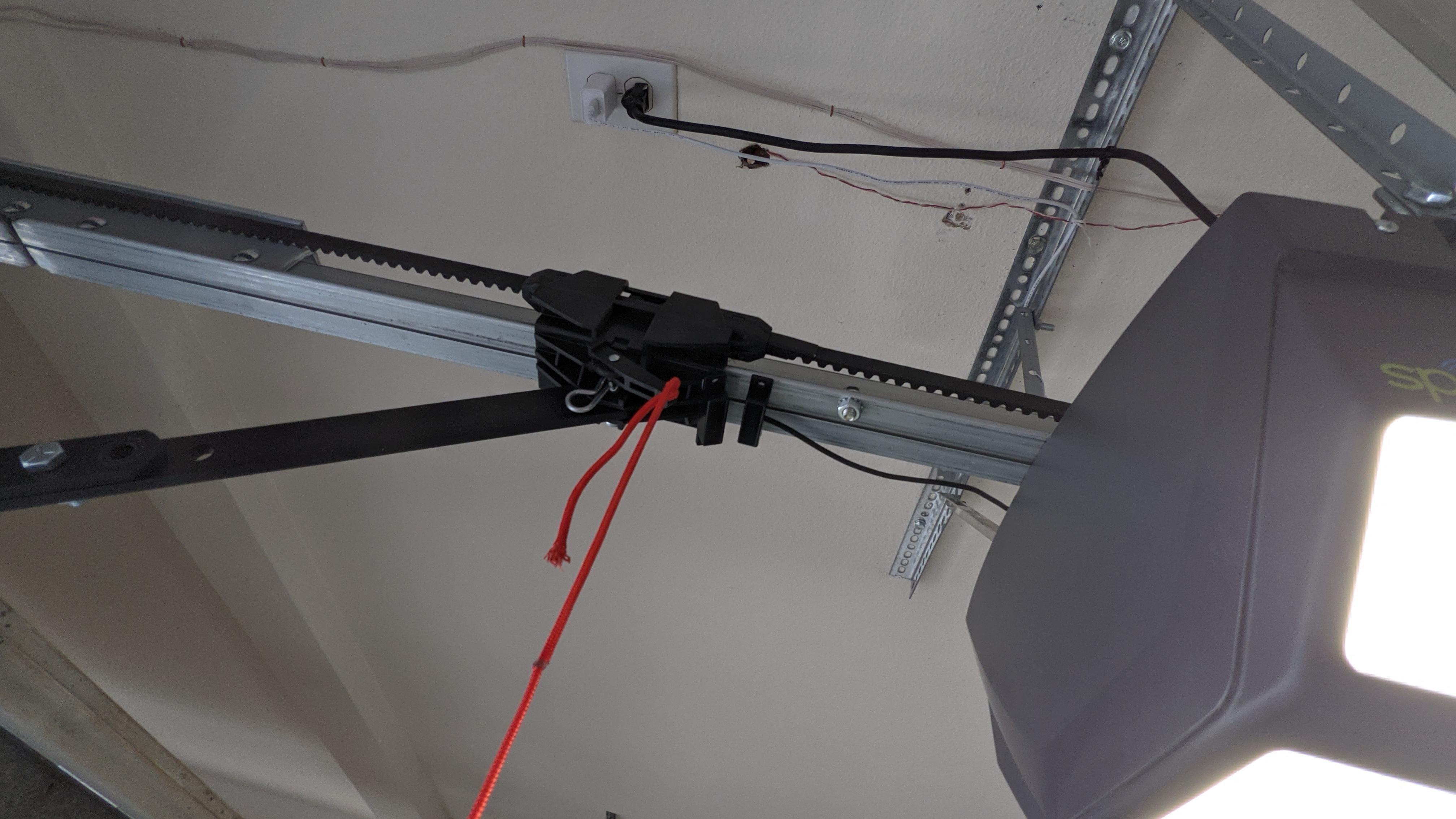 The Meross garage door opener reversed the condition of the