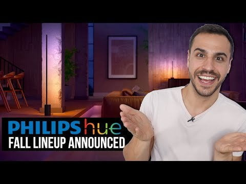 The announcement of the autumn range!  - New Philips Hue lights and application updates
