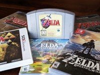 The final ranking of each game Legend of Zelda