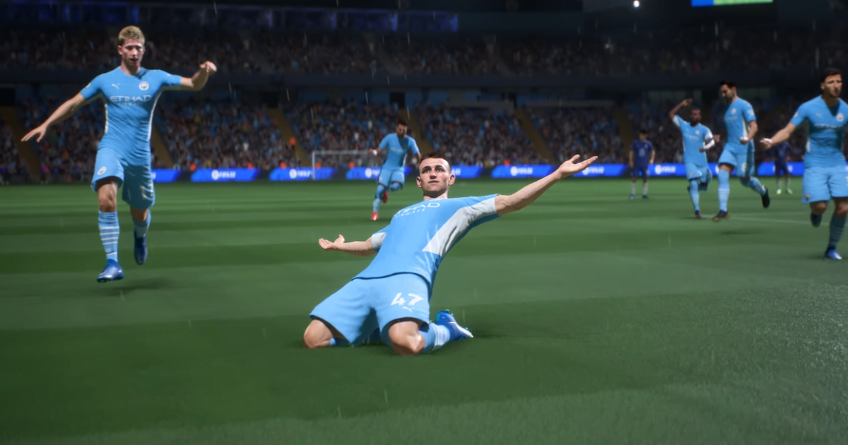 The new Man City kit was released in the trailer revealed by FIFA 22