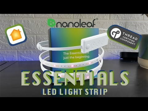 The new Nanoleaf essentials lightweight tape uses the thread which is very fast and excellent with HomePod mini.  At an affordable price, easy installation and no bridge required.  This is a must if you want a lightweight band
