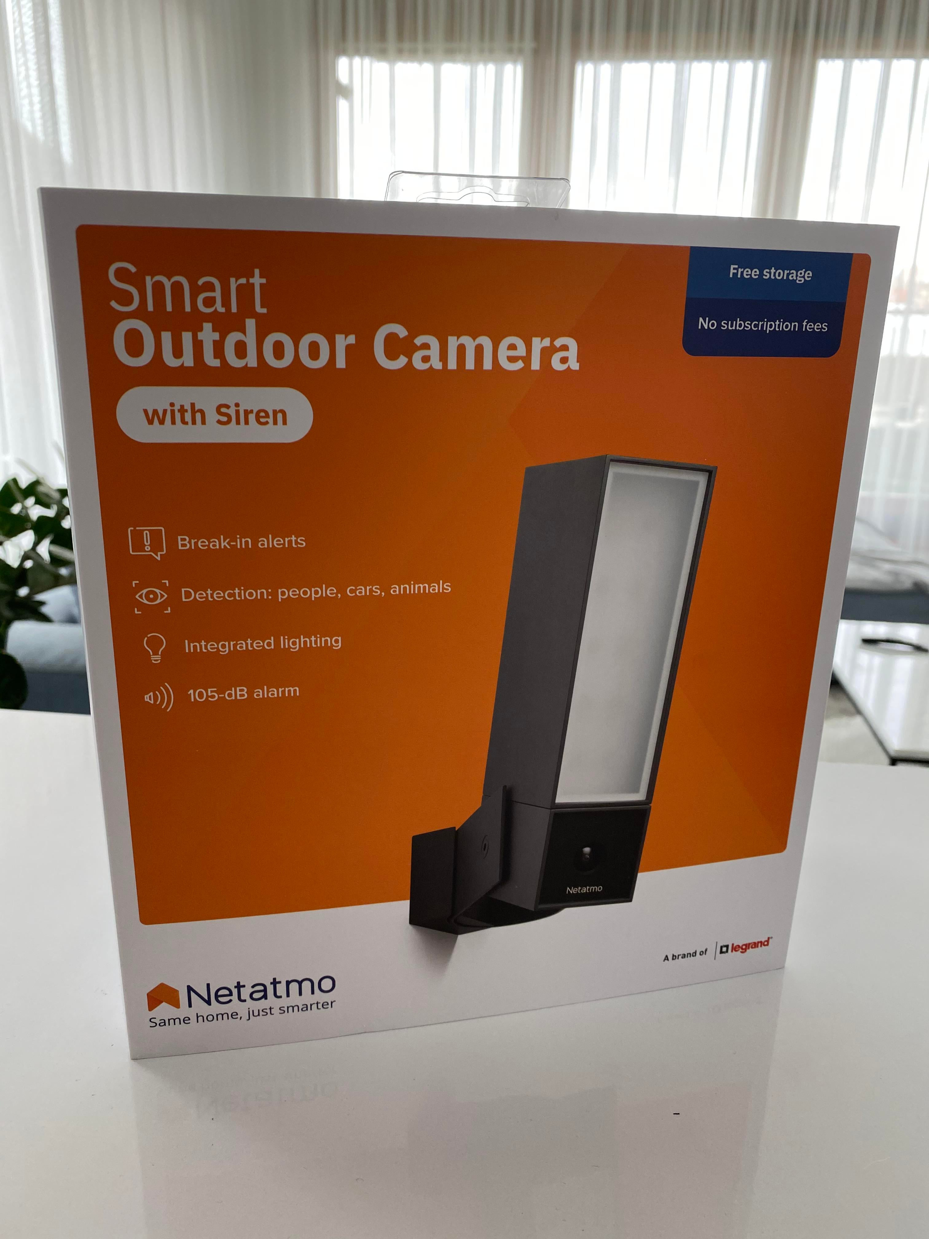 The new Netatmo siren presence has arrived