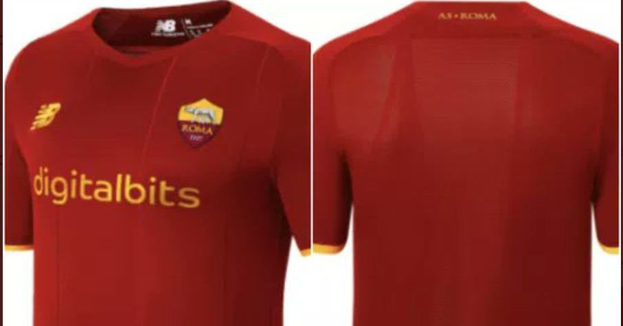 The new Roma home kit has leaked online