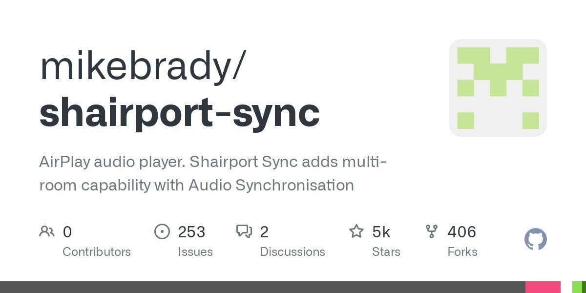 The recent update to Shairport-sync now allows it to function as an Airplay 2 receiver.