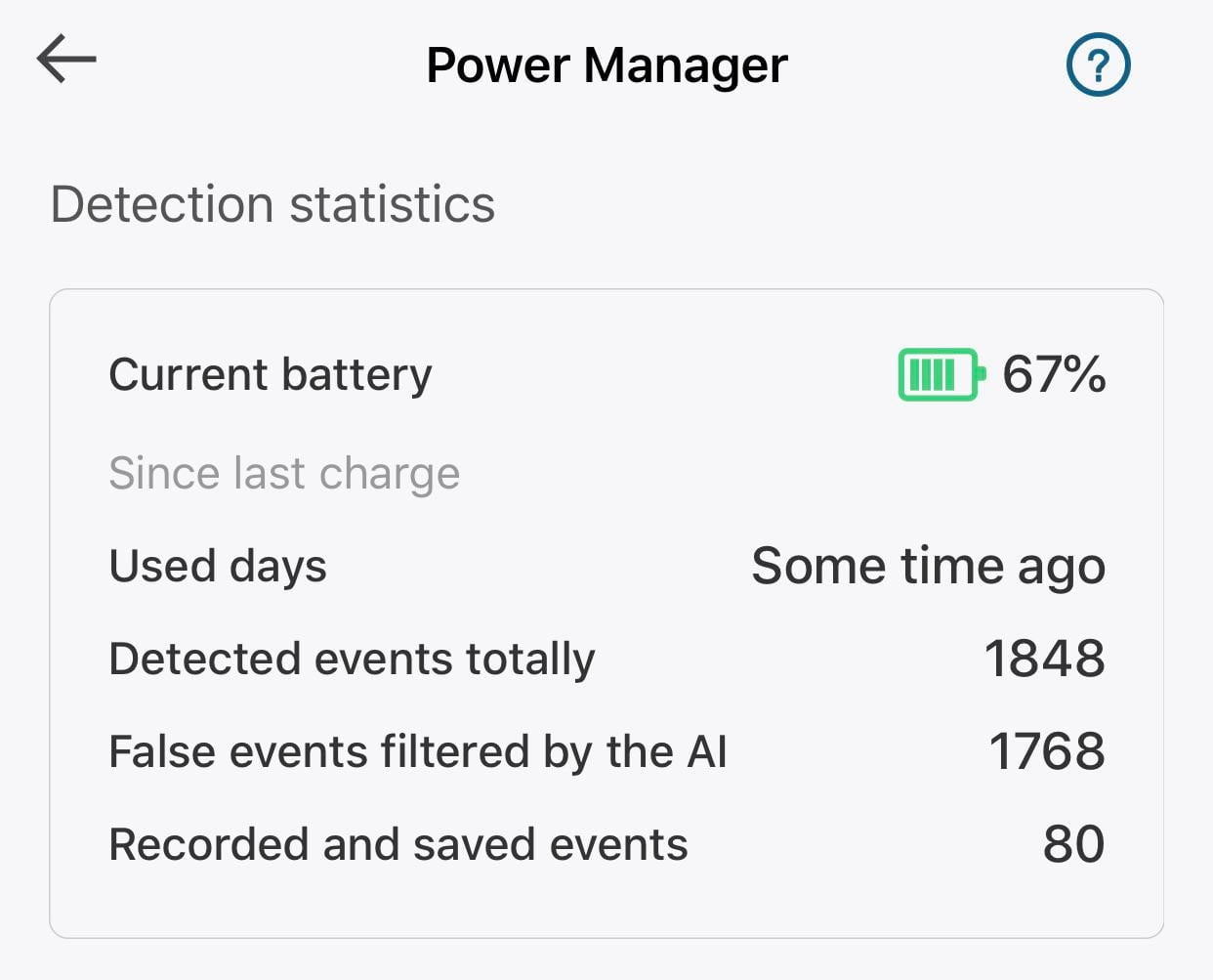 The secure video kills my battery !!! That in 3 days!