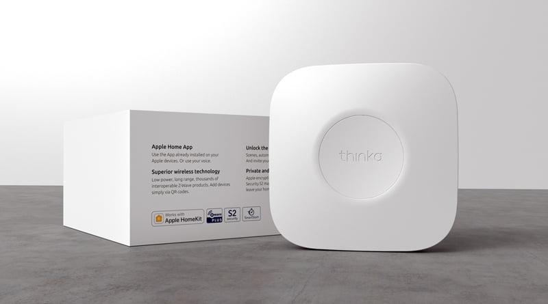 Thinka unveils the world's first Z-Wave HomeKit Hub - Homekit News and Reviews