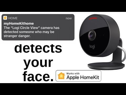 This HomeKit can detect your face View the Logitech Circle