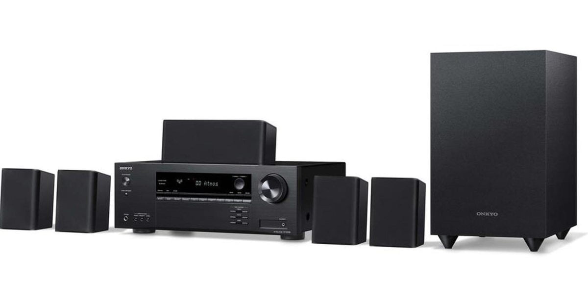 Upgrade your home theater with Onkyo's 5.1-Ch.  all-in-one reception system at $ 319